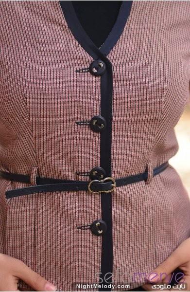 مدل های جدید کت دامن زنانه سری (3)