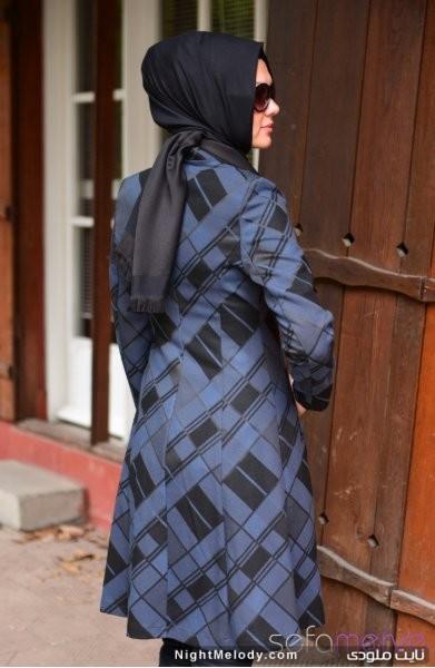 مدل های شیک پالتو دخترانه طرح زمستانی