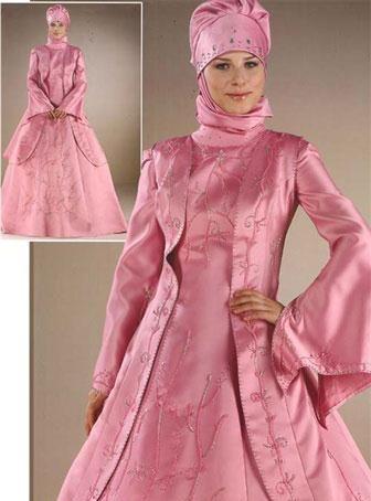 لباس عروس با حجاب