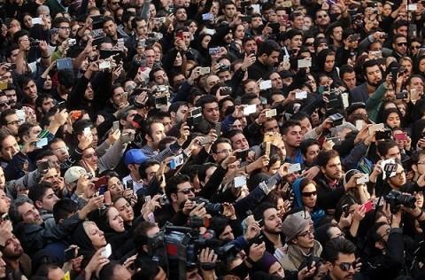 تشیع جنازه مرتضی پاشایی