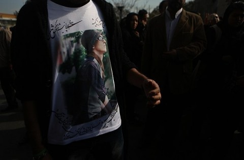 تصاویر مراسم تدفین مرتضی پاشایی