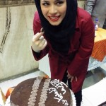 تصویر جشن تولد ملیکا شریفی نیا