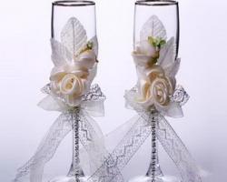 تزیین لیوان عروس و داماد