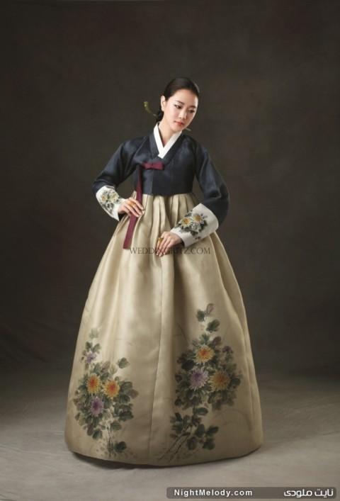 مدل های جالب لباس های سنتی کره ای زنانه