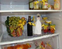 جدید ترین تزئینات یخچال عروس