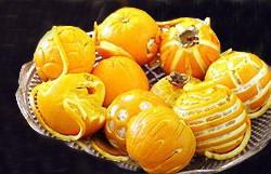 تزئینات جالب پرتقال