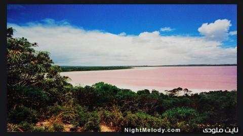 دریاچه صورتی استرالیا (Pink Lake, Australia)