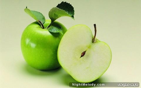 سیب گازدار