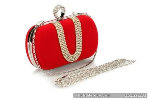جدیدترین مدل کیف دستی های زنانه2014(قرمز)