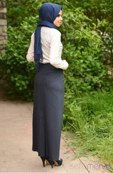 مدل های جدید دامن مشکی زنانه