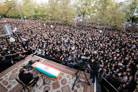 تشییع پیکر زنده یاد مرتضی پاشایی