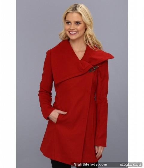 جدیدترین مدل پالتو های زنانه 93(قرمز)