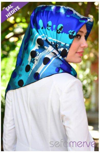 مدل دستمال طرح دار دخترانه 94