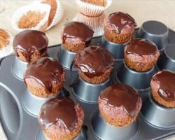مافین چغندر و شکلات