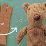 ساخت عروسک با دستکش