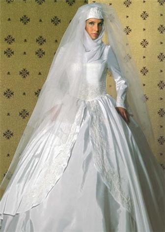 لباس عروس پوشیده سری 3