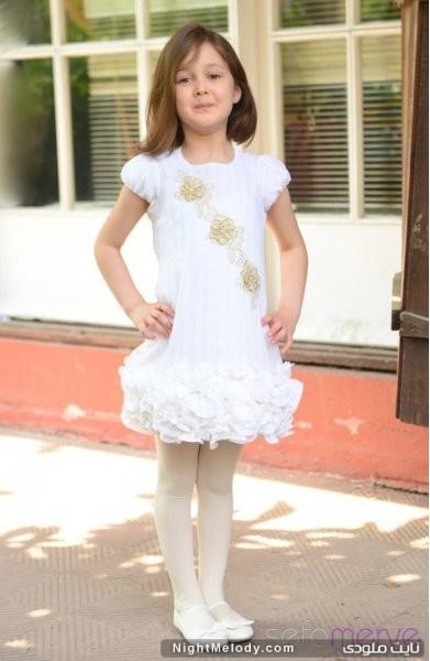 مدل های شیک لباس کودکان دخترانه