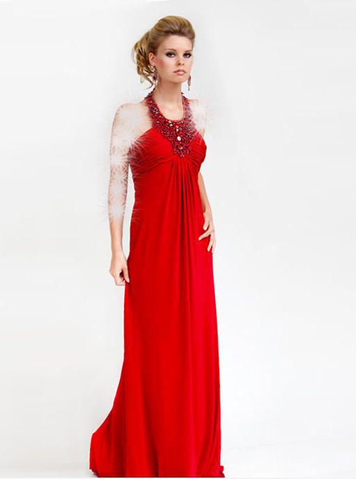لباس شب قرمز جدید