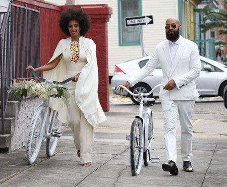 عکس هایی از مراسم عروسی خواهر Beyonce