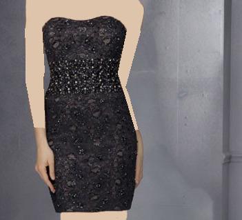 مدل های جدید لباس کوتاه شب