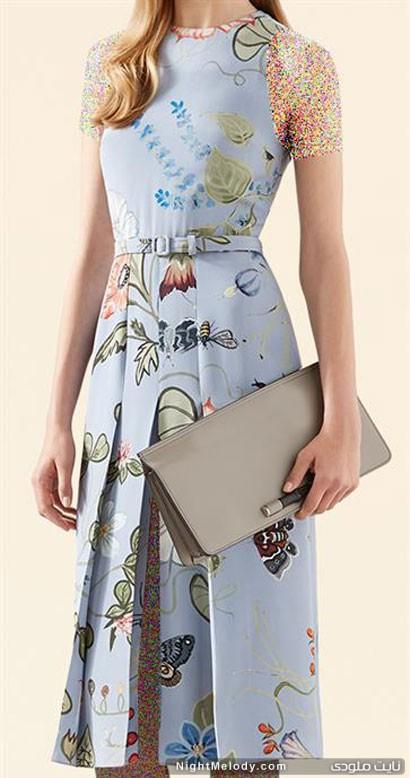 کلکسیون لباس زنانه گوچی Gucci برای پاییز و زمستان 2014