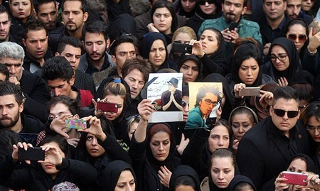 عکسهای مراسم تشییع جنازه مرتضی پاشایی