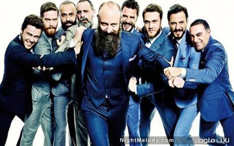 بازیگران مرد سریال حریم سلطان در کت شلوار