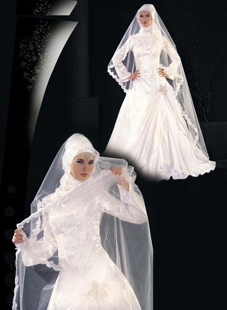 لباس عروس با حجاب سری 2
