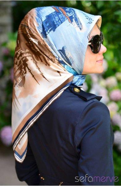 مدل دستمال ابریشمی دخترانه
