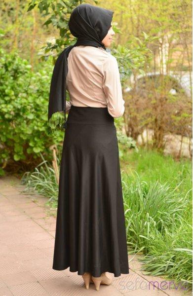 مدل دامن بلند زنانه رنگ 94