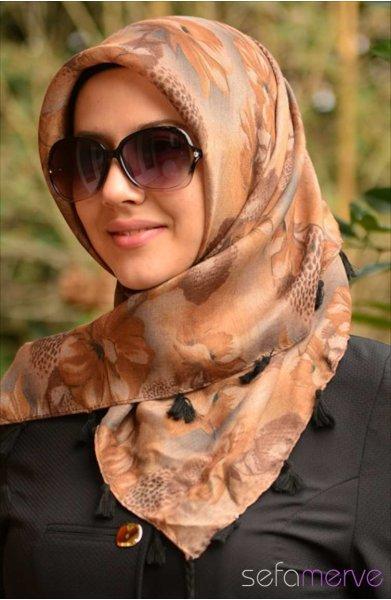 مدل های شال لبنانی زنانه