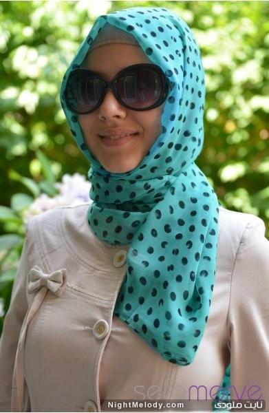مدل های زیبا شال عربی زنانه