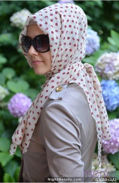 مدل های زیبا شال ترکی زنانه 93