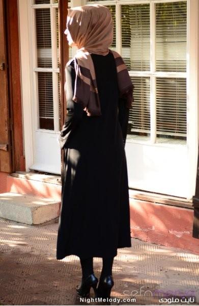 مدل های جدید مانتو مشکی زنانه (3)