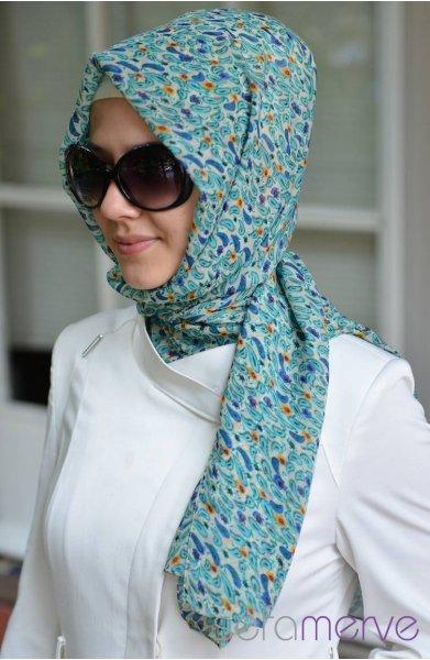 مدل روسری مجلسی زنانه 94
