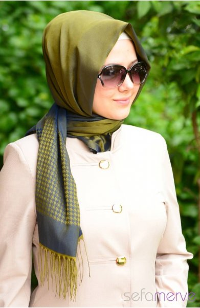 مدل های زیبا شال دخترانه ترکی