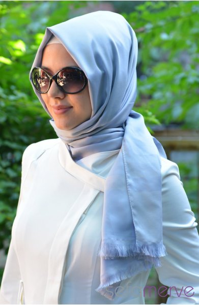 مدل شال و روسری زنانه رنگ 2015