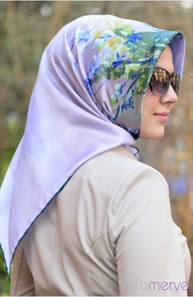 مدل شال های زنانه عربی