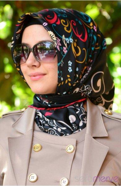 مدل مانتو و روسری زنانه 94
