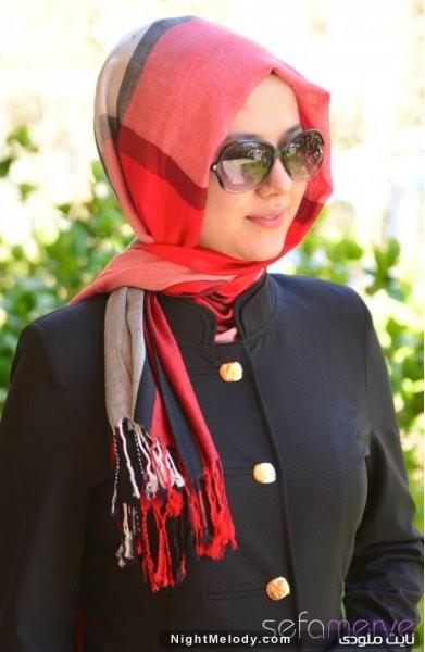 مدل های جدید روسری وشال زنانه