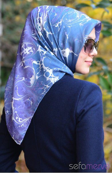 مدل های دستمال زنانه ترکی