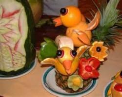 تزئینات خلاقانه پرتقال