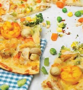 طرز تهیه پیتزا دریایی