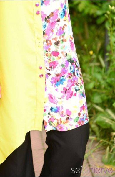 مدل های جدید تونیک رنگی زنانه (2)
