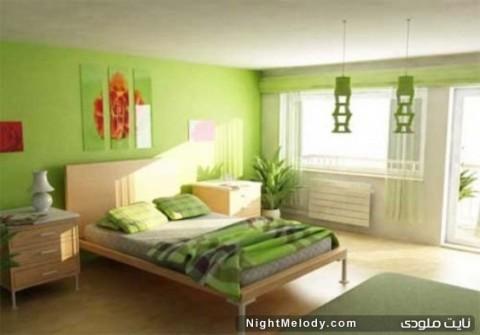 جدیدترین مدل های دکوراسیون رنگ سبز