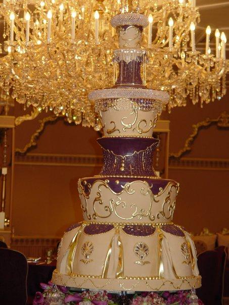 شیک ترین مدل های کیک عروسی
