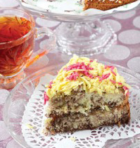 طرز تهیه کیک اتریشی