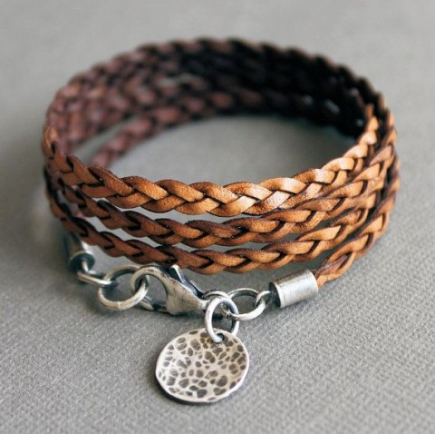 مدل دستبند بافت 2015