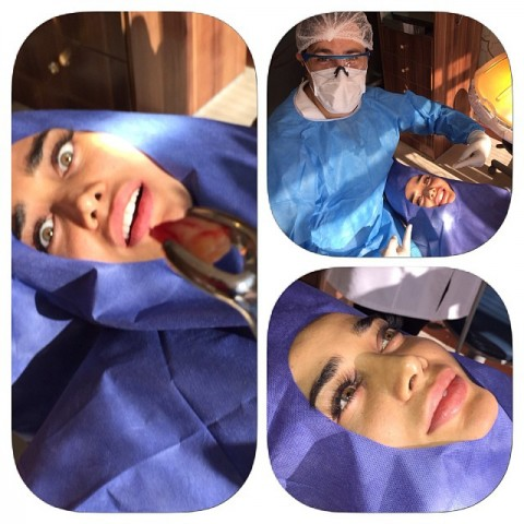 جیغ زدن تینا آخوندتبار در هنگام کشیدن دندان