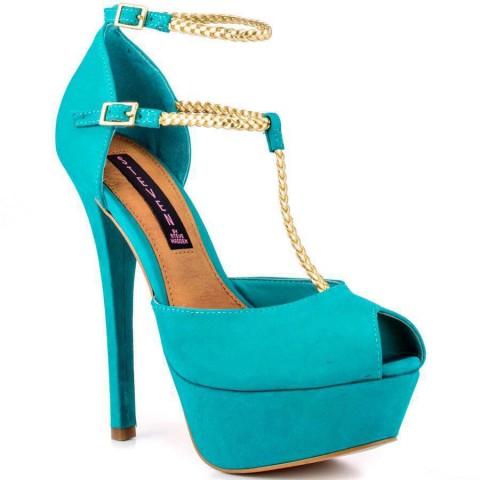 مدل کفش رنگی ویژه جشن نامزدی